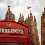 London landmark symbols collage — Stock Photo #61953453