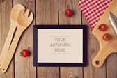 Mock up template for cooking utensil — Stock Photo