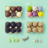 Easter holiday decorations — Stock Photo