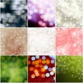 Sfondo astratto. una serie di nove immagini. — Foto Stock