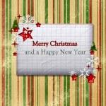 Christmas card — Stock Photo #57784667
