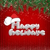 Christmas card — Stock fotografie