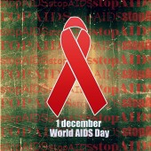 1 December World AIDS Day — Stock Photo