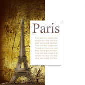Paris - a city of love and romanticism — Stock Photo