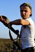 Dzieci wojny — Zdjęcie stockowe