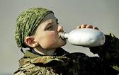 Дети войны. — Стоковое фото
