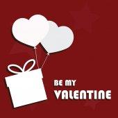 Valentines illustratie — Stockvector
