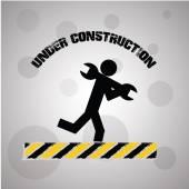 Underconstruction design — Stock Vector