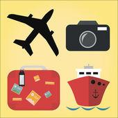 Travel Design Vector — Stock Vector