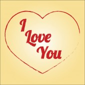 векторный дизайн любовь — Cтоковый вектор