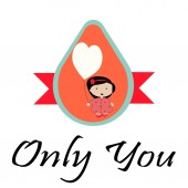 Illustration Love illustration over color background — Stock Vector