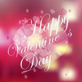 Happy valentine day over hearts texture degrade — Διανυσματικό Αρχείο