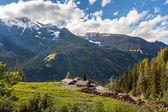 Mountain Sawmill - Landscape — Stock Photo