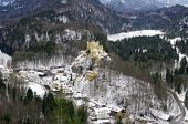 Hohenschwangau Castle.  Bavaria, Germany. — Stock Photo