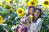 Matka a dcera — Stock fotografie