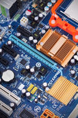 Electronic circuit board — Stock Photo