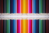 Bright picture of colored pencils — Stock Photo
