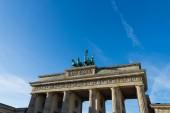 Branderburg gate in Berlin. — Stock Photo