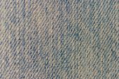 Texture of blue jeans background — Stock Photo