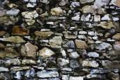 Painted stone wall texture — Stock Photo