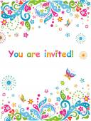 You are invited! — Stock Vector