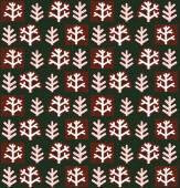 Fond d'écran floral abstrait hiver — Vecteur