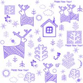 Winter wrapper — Stock Vector