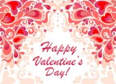 Greeting banner for Valentines day — Vettoriale Stock