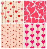 Valentines wallpapers — Vettoriale Stock