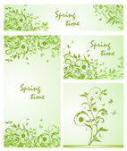 Spring design. Collection — Stok Vektör