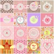 Greeting labels for Mother's day — Stock Vector #69123039