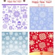 Winter greeting labels — Stock Vector #78525690