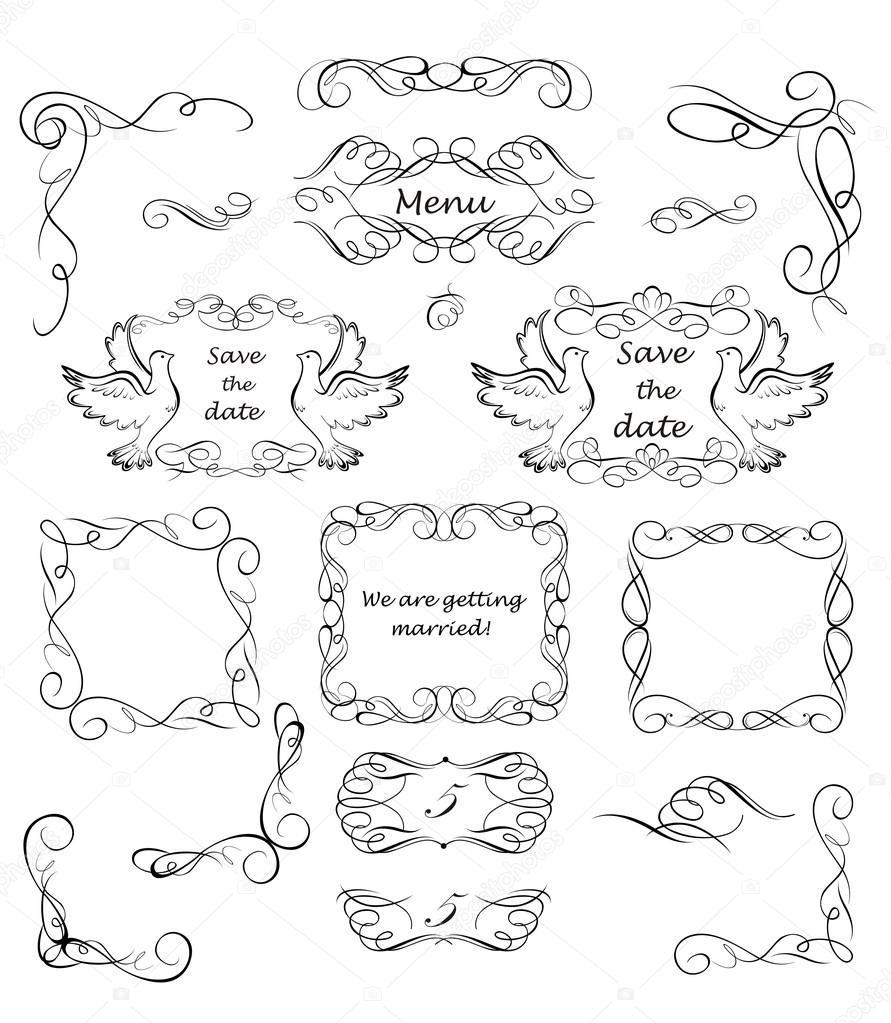 vintage wedding invitations vector free - 28 images - 13 vintage ...