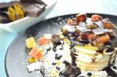 Sweet cream — Stock Photo