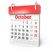 3d calendar 2015 — Stock Photo
