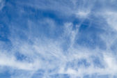 Cloudy sky background. — Stock Photo