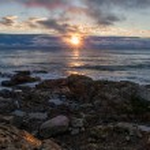 ������, ������: Sunrise Over a Rocky Coast