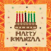 Happy Kwanzaa — Stock Vector