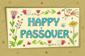Passover Sign — Wektor stockowy