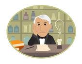 Edison — Stok Vektör