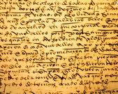 Ancient Calligraphy (1) — Stock Photo