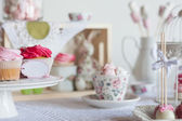 Sweet table — Stock Photo