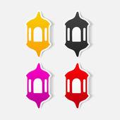 Ramadan lantern symbol — Stock Vector