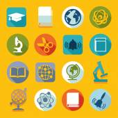 Set of education icons — Stok Vektör