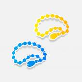 Rosary icons — Vector de stock