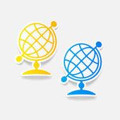 Ilustración de globo — Vector de stock