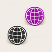 Globe illustration — Cтоковый вектор