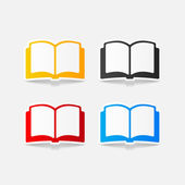 ícones do livro — Vetorial Stock