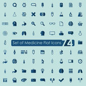 Medical flat icons — Stock Vector
