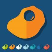 Flat design: scrambled — Stock Vector